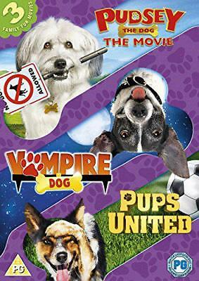 Dogs Triple (Pups United/Vampire Dog/Pudsey The Dog Movie) [DVD], DVD | 50303055