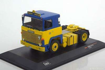 1:43 Ixo Scania LBT 141 1976 yellow/blue