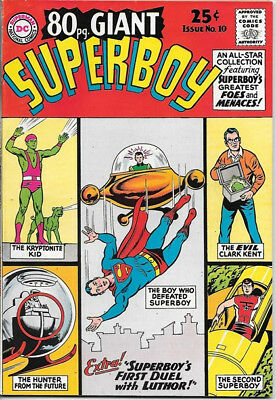 Superboy 80 Page Giant Comic Book #10 DC Comics 1965 VERY FINE+