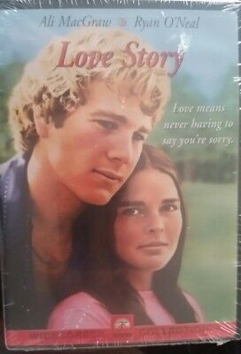 Love Story Dvd Widescreen Ryan O'Neal Ali Macgraw