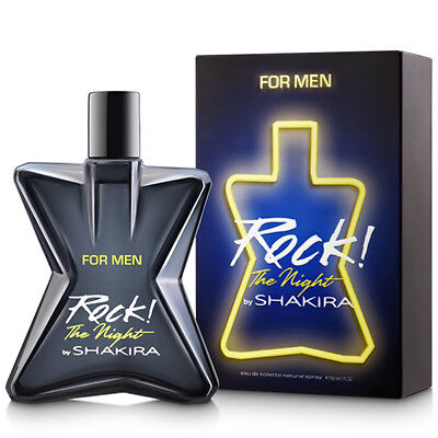ROCK THE NIGHT FOR MEN by SHAKIRA - Colonia / Perfume 80 mL - Man / Uomo - Rock!