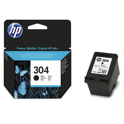 Original HP 304 Black Ink Cartridge For DeskJet 2620 Inkjet Printer