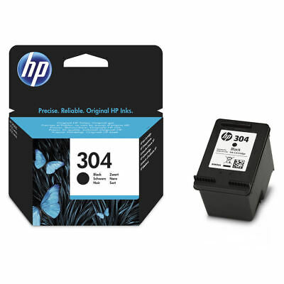 Original HP 304 Black Ink Cartridge For DeskJet 2632 Inkjet Printer