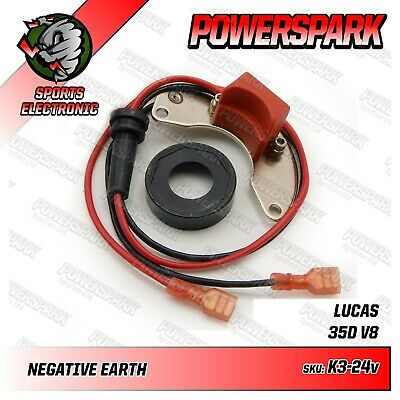 Powerspark Rover V8 35D 24 volt Electronic Ignition Kit with Powermax Red Rotor