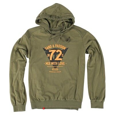 Dainese 72 & Passion Mens Hoody Sweatshirt Military Green XL