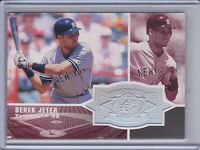 1998 SPx Finite/9000 #305 Derek Jeter New York Yankees Baseball Card sports memorabilia