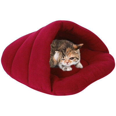 Pet Bed For Puppy Cats Dog Soft Cozy Nest Sleeping Bag House Cushion Mat Kennel