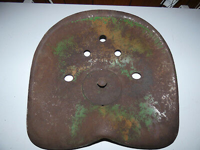 John Deere metal tractor seat ----vintage-----Minneapolis Moline