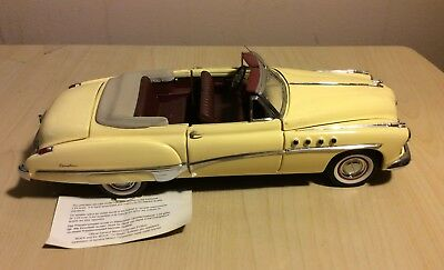 Franklin Mint 1948 Buick Roadmaster Convertible 1:24 Scale
