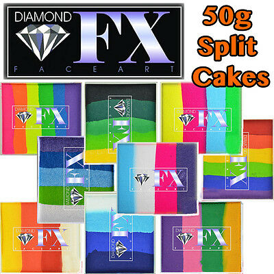 DIAMOND FX 50 G split Cake Pintura facial