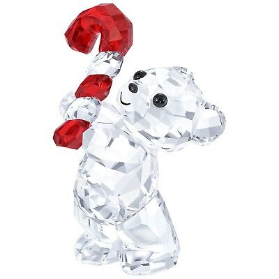 Swarovski Crystal Christmas Figurine KRIS BEAR CHRISTMAS 2016 #5222231 New