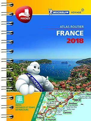 France Mini Atlas: 2018 2018 (Michelin Tourist and Motoring Atlases) by  | Mass