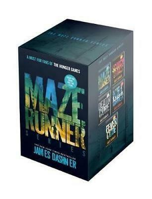 NEW The Maze Runner Series : 5 Book Boxed Set By James Dashner Free Shipping