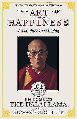 The Art of Happiness A Handbook For Living Dalai Lama Paperback Book 1999