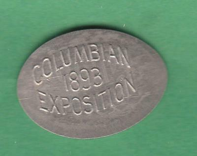 1893 Columbian Expo Elongated shield nickel , lots of stars showing inv#9445