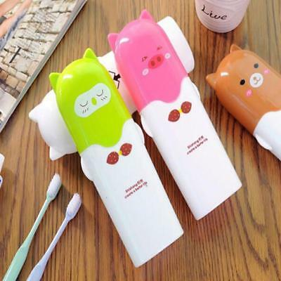 Toothbrush Travel Cover Case Holder Cute Cartoon Clean Small Compact Easy Carry