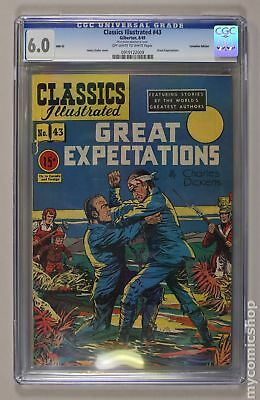 Classics Illustrated 043 Great Expectations Canadian Edition #HRN62 1949 CGC 6.5