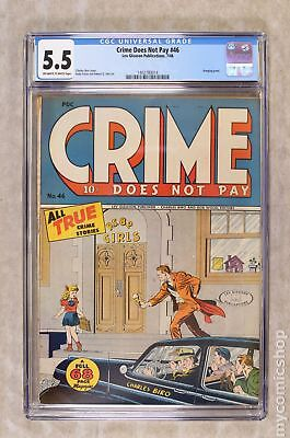 Crime Does Not Pay #46 1946 CGC 5.5 1402780014
