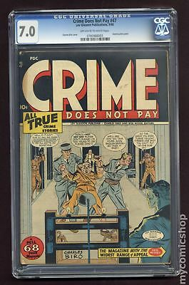 Crime Does Not Pay #47 1946 CGC 7.0 0780988001