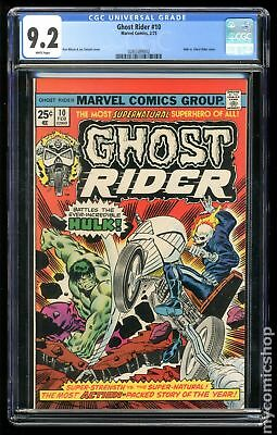 Ghost Rider (1st Series) #10 1975 CGC 9.2 0283389002
