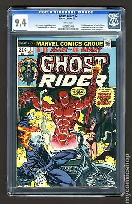 Ghost Rider (1st Series) #2 1973 CGC 9.4 0805982009
