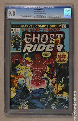Ghost Rider (1st Series) #2 1973 CGC 9.8 0960335006