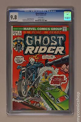 Ghost Rider (1st Series) #4 1974 CGC 9.8 1028211014