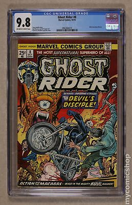 Ghost Rider (1st Series) #8 1974 CGC 9.8 0962666015