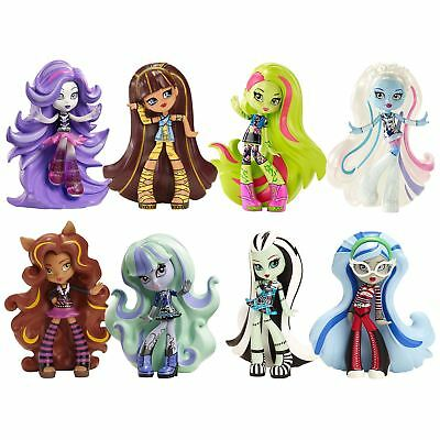 Collectible Vinyl Monster High Figures 10cm Moulded Cool Ghouls Play Fun