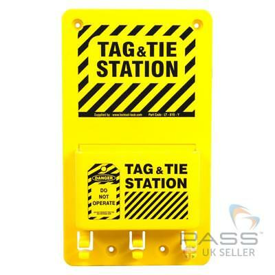 Compact Lockout Tagout Station 6 inch x 10 inch - Without Accessories