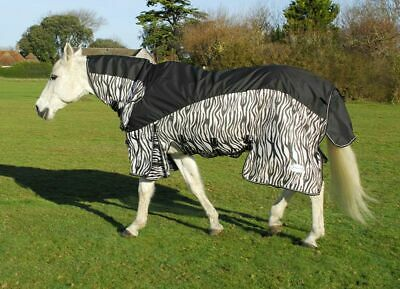 Rhinegold Masai Full Neck Combined Outdoor/Fly Horse Pony Rug Waterproof Topline