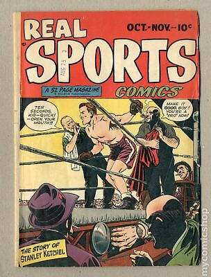 Real Sports Comics #1 1948 GD/VG 3.0
