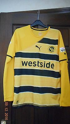 Mens Football Shirt - Young Boys - M - Home 2010/11 - Rare Long Sleeves - Puma