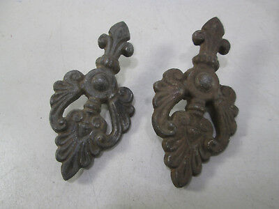 2 Vintage Brass Screw-on Furniture? or Other Embellishment