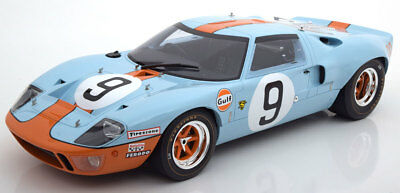 1:12 CMR Ford GT40 Winner 24h Le Mans Rodriguez/Bianchi 1968 Gulf