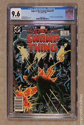 Swamp Thing (2nd Series) #20 1984 CGC 9.6 1448922017