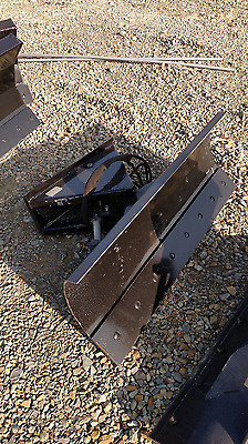 "NEW 48"",4' MINI SKID STEER DOZER BLADE SNOW PLOW DINGO Vermeer Ditch Witch finn"