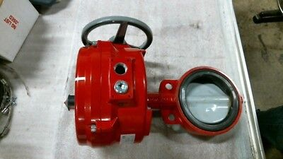 """Bray Series 70 Electric Actuator w/ 6"""" Series 30 Butterfly Valve - 60 Day Wnty"""