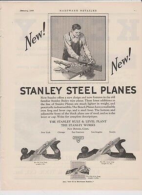 1927 Stanley Planes Ad #3