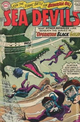 Sea Devils #25 1965 VG 4.0 Stock Image