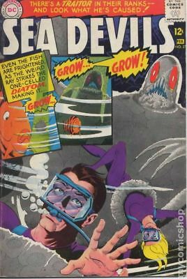 Sea Devils #27 1966 GD/VG 3.0 Stock Image Low Grade