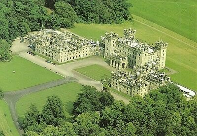Large P/c - Aerial View Of Floors Castle, Kelso, Roxburghshire.
