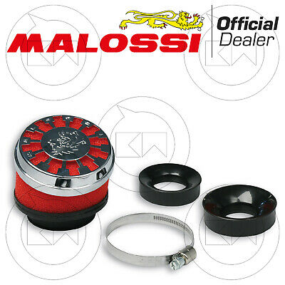 Malossi 0411505 Filtro Aria Red Filter E13 Ø60 Inclinato Carb. Dell'orto Phbg 21