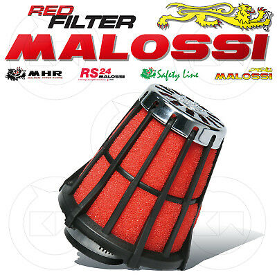 Malossi 042412.50 Filtro Aria Red Filter E5 Ø32 Carburatore Dell'orto Phbg 17,5
