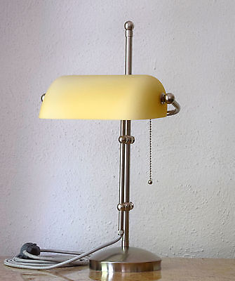 Banker Lampe Berliner Messing Lampe