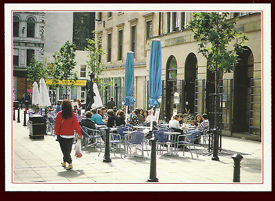 (F37164) An Open Air Cafe in Glasgow. Dixon / Hinde Postcard