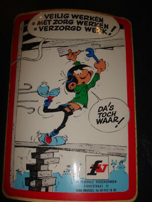 Stickers BD Gus Flater  autocollants  Franquin