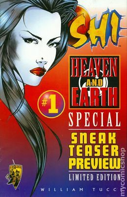Shi Heaven and Earth Sneak Teaser Preview #1 1997 FN+ 6.5 Stock Image