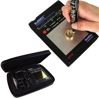NEW GemOro Auracle AGT1 Plus Digital LCD Gold & Platinum Fine Metal Tester