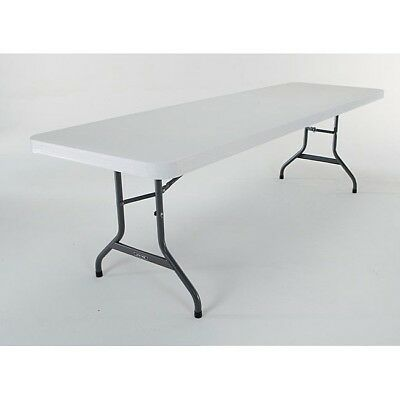Lifetime 8 Foot Commercial Stacking Folding Table Brand New